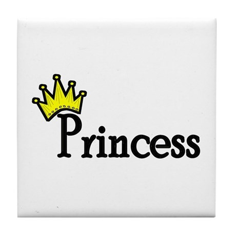 Princess Tile Coaster