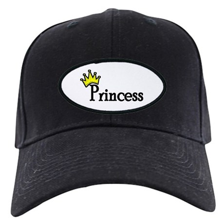 Princess Black Cap