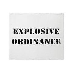 Explosive Ordinance Throw Blanket