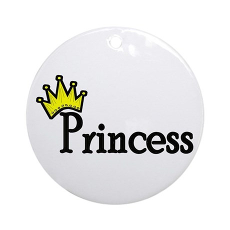 Princess Ornament (Round)