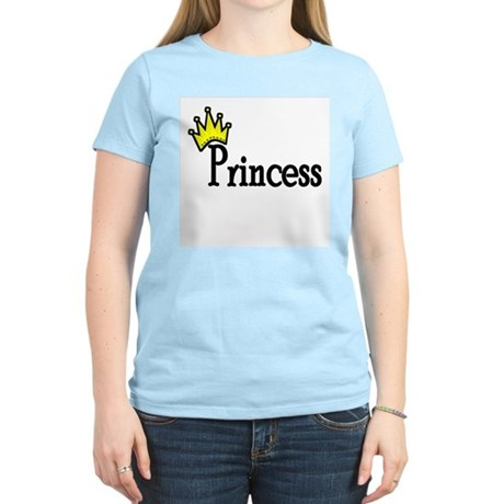 Princess Women's Pink T-Shirt