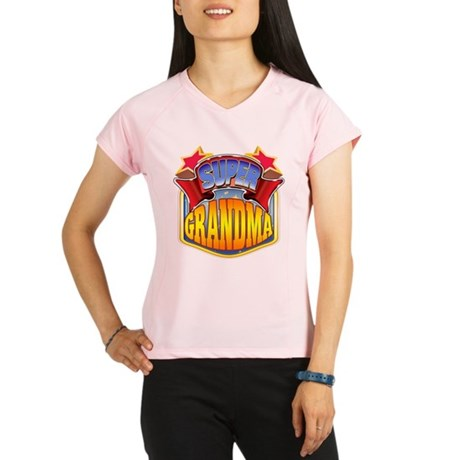 Super Grandma Performance Dry T-Shirt