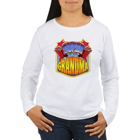 Super Grandma Women's Long Sleeve T-Shirt
