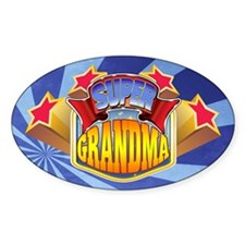 Super Grandma Decal