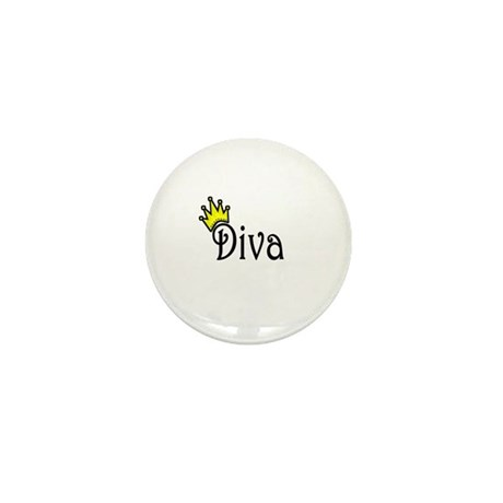 Diva Mini Button