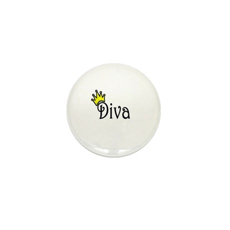 Diva Mini Button (10 pack)