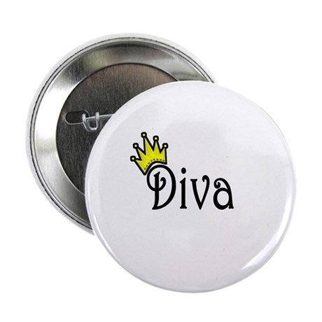 "Diva 2.25"" Button (10 pack)"