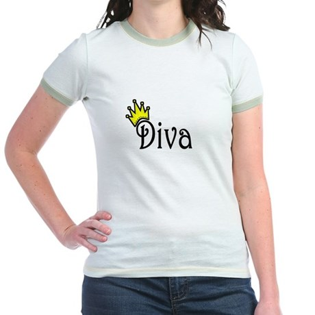 Diva Jr. Ringer T-Shirt