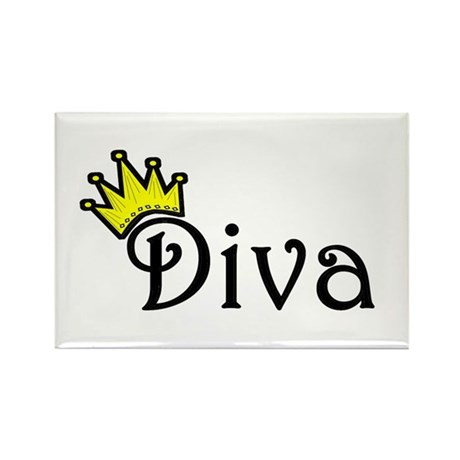 Diva Rectangle Magnet