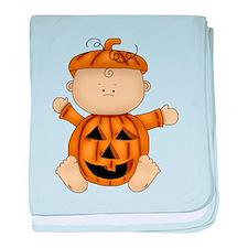 Cute Pumpkin-Baby baby blanket