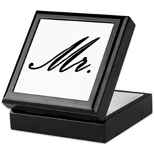 """Mr."" Keepsake Box"