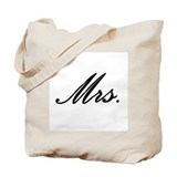 """Mrs."" Tote Bag"