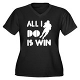 All I do is Win American Football Women's Plus Siz