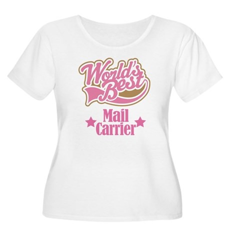 Mail Carrier Gift Women's Plus Size Scoop Neck T-S