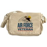 Air Force Veteran Eagle Messenger Bag