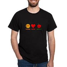 Peace Love Apples T-Shirt