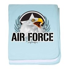 Air Force Eagle baby blanket