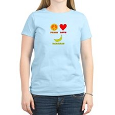 Peace Love Bananas T-Shirt