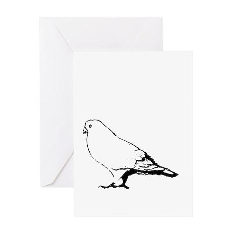 """Bird"" Greeting Card"