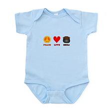 Peace Love Chili Infant Bodysuit