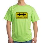 Both Ways Green T-Shirt