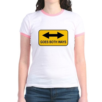 Both Ways Jr. Ringer T-Shirt