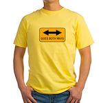 Both Ways Yellow T-Shirt