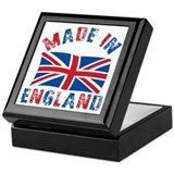 Made In England Keepsake Box