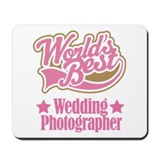 Wedding Photographer Gift Mousepad