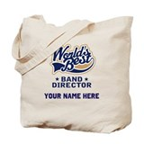 Personalized Band Director Tote Bag