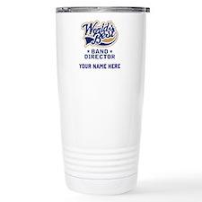 Personalized Band Director Travel Mug