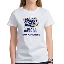 Personalized Band Director Tee