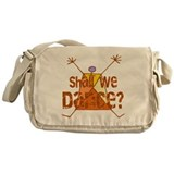 Shall We Dance Messenger Bag
