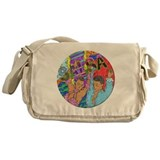 Salsa Dance Messenger Bag