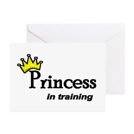 Princess in Training Greeting Cards (Pk of 10)