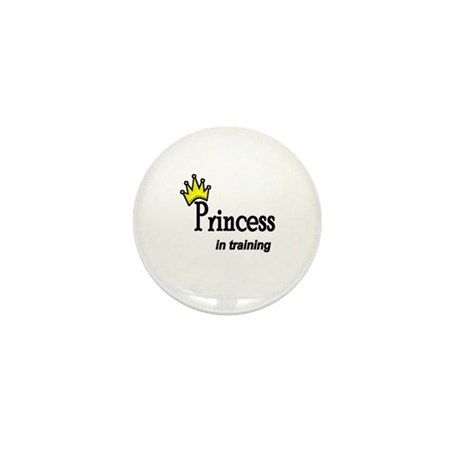 Princess in Training Mini Button (10 pack)