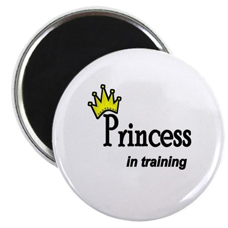"Princess in Training 2.25"" Magnet (10 pack)"