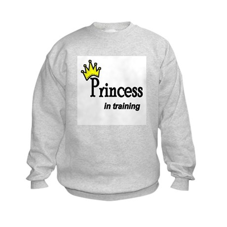 Princess in Training Kids Sweatshirt