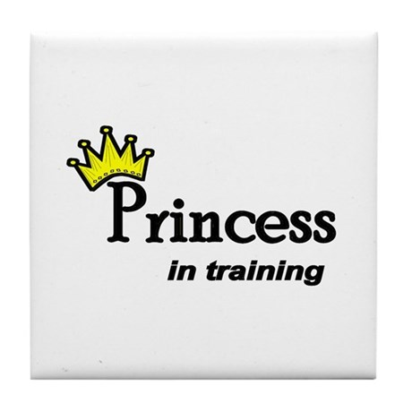 Princess in Training Tile Coaster