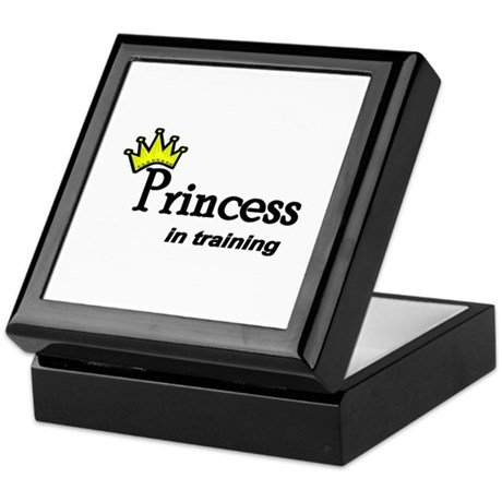 Princess in Training Keepsake Box