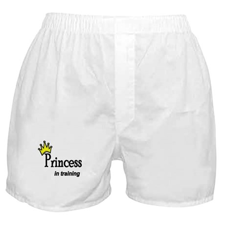 Princess in Training Boxer Shorts