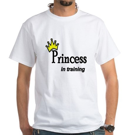 Princess in Training White T-Shirt