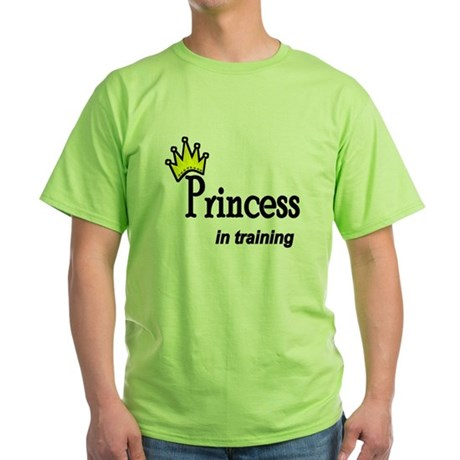 Princess in Training Green T-Shirt