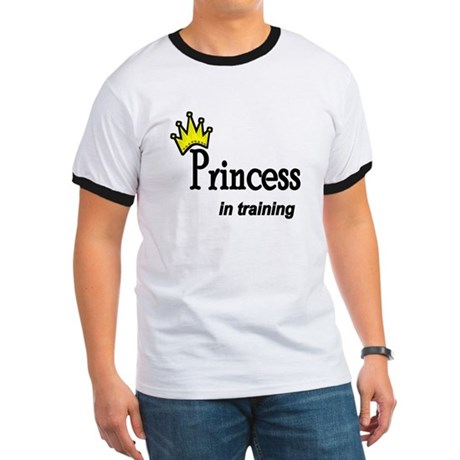 Princess in Training Ringer T