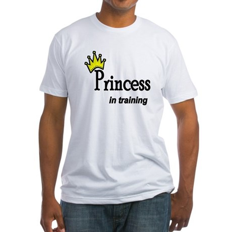 Princess in Training Fitted T-Shirt