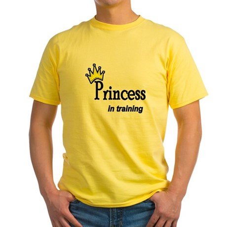 Princess in Training Yellow T-Shirt