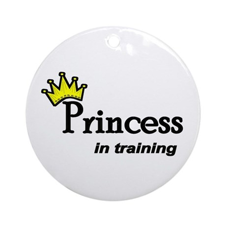 Princess in Training Ornament (Round)