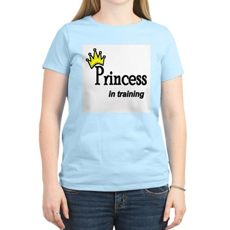 Princess in Training Women's Pink T-Shirt