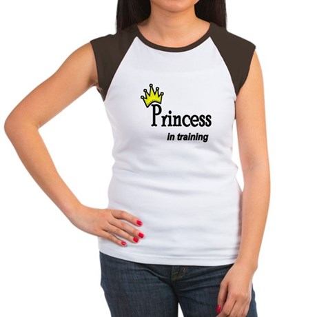 Princess in Training Women's Cap Sleeve T-Shirt