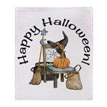 Witches Scene Throw Blanket